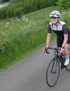 The Odile bib shorts and Georgette jersey in action