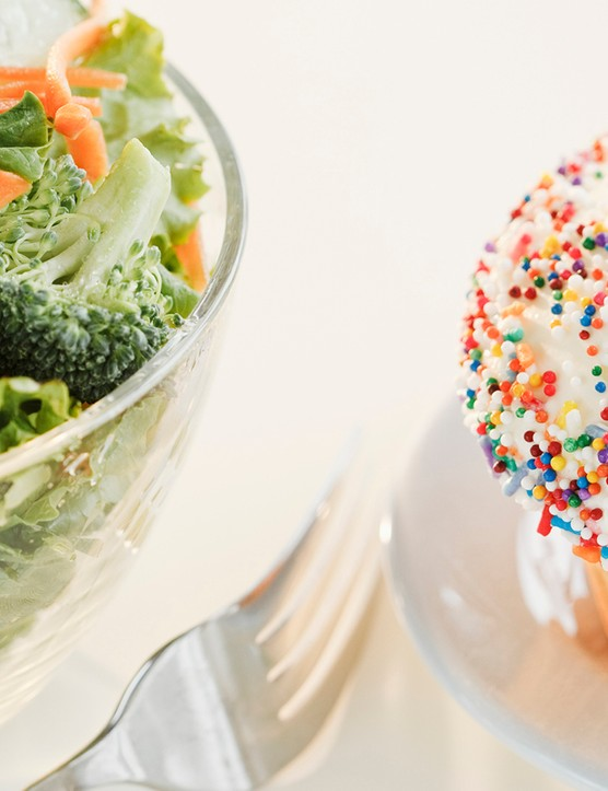 Do your eating habits match up to your healthy image?