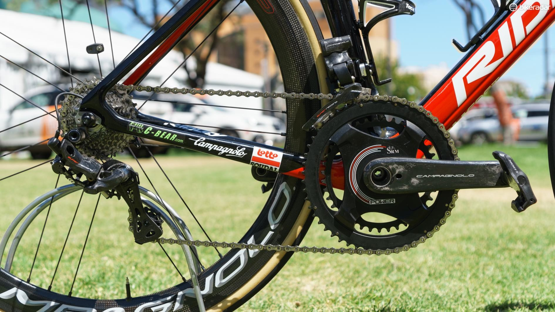 Lotto-Soudal is the first to be seen using the unreleased groupset