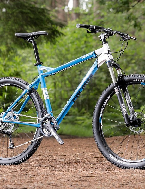 The Calibre Gauntlet is another great value mountain bike from Go Outdoors