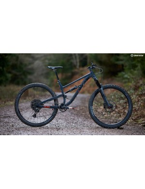 The new Calibre Sentry is an absolute steal at £2,000 (with the £5 GO Outdoors discount card). Great geometry, well-considered kit and a balanced ride mean it's certainly not afraid to go fast