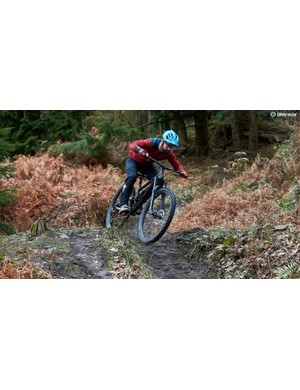 Rob giving the new enduro focused 29er from Calibre a good going over throughout testing