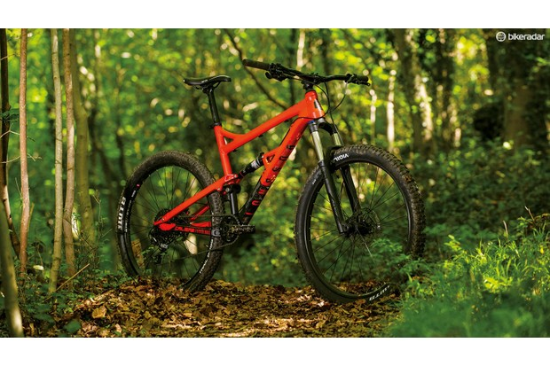 bf4e41cdc6d Best mountain bike under £1,000. The Calibre Bossnut Evo offers capable full -suspension in a £1000 package