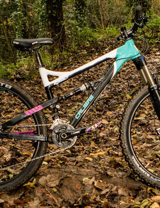 The Bossnut Ladies is based around the same frame as the Bossnut but with women's specific finishing kit