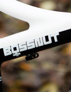 More design details, like the ladies Bossnut logo