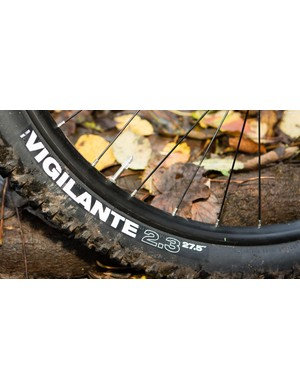 028be572d4af17 The WTB Vigilante tyre has been selected to provide grip at the front and a  fast