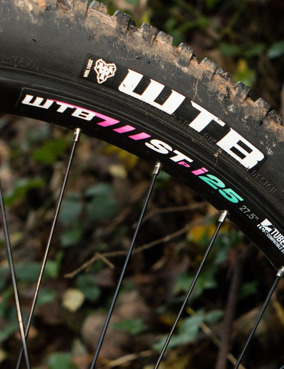The decorative details include custom, colour-coordinated wheel decals