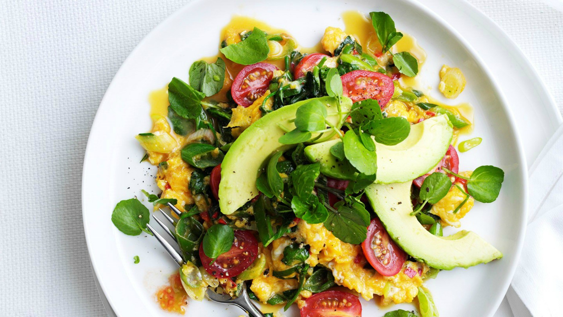 The spicy California scramble also makes a great weekend brunch