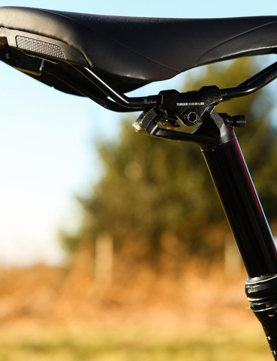 The women's Camber has a women's specific Myth Sport saddle