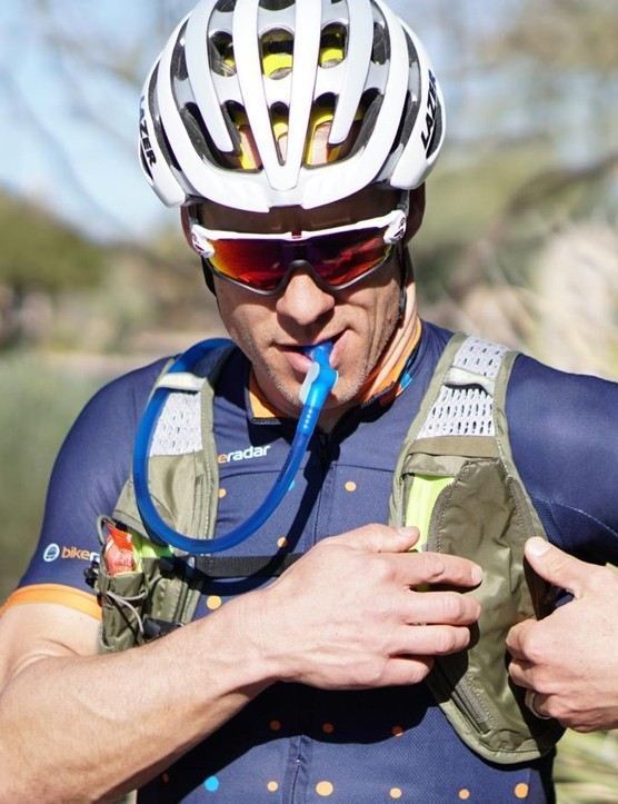 The main selling point, however, is what CamelBak has always offered — a way to drink with both hands on the bars