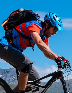 Hydration packs have well designed straps to move with you on the bike