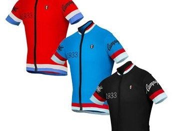Campagnolo Heritage Full Zip Logo Jersey