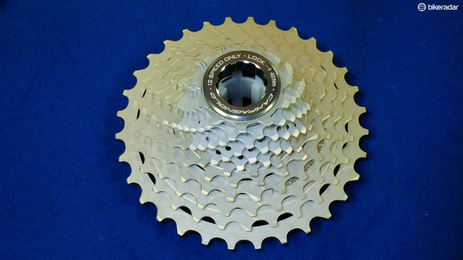 There are just two cassettes to choose from that are shared across both groupsets