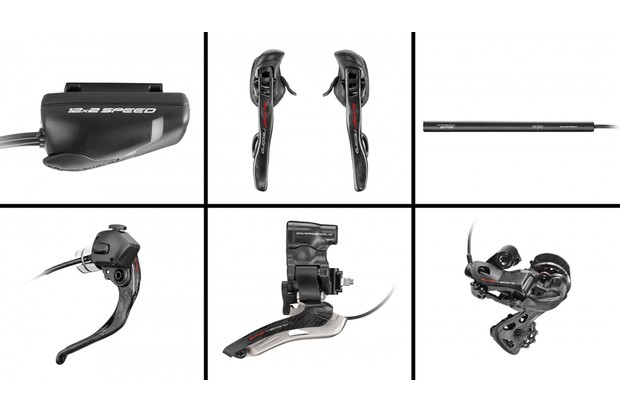 Campagnolo's Super Record EPS adds electronic shifting to the existing 12-speed flagship