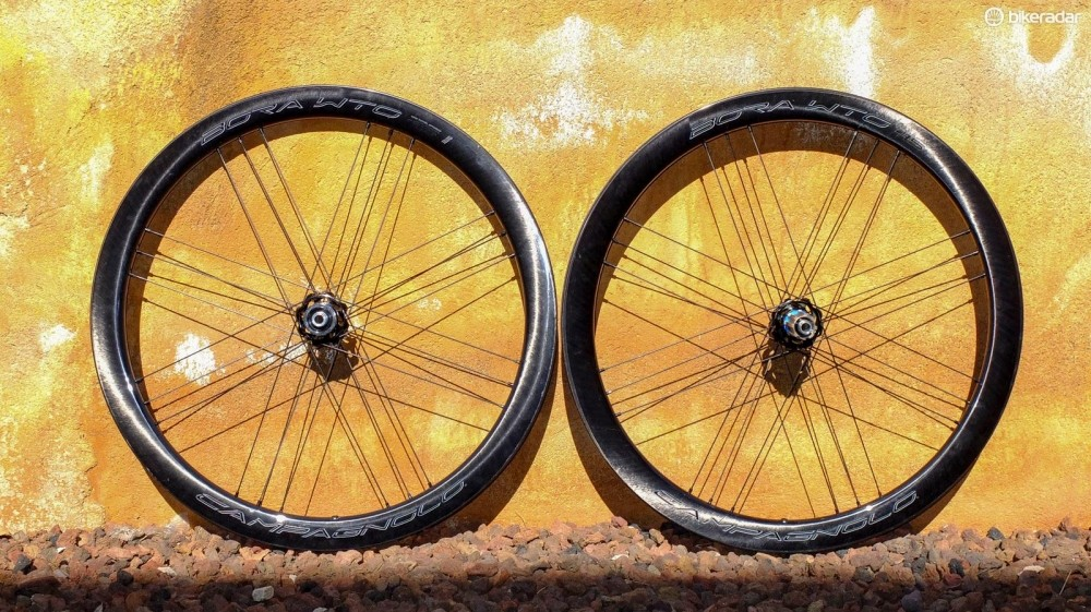 Campagnolo's latest wheelset is the Bora WTO 45