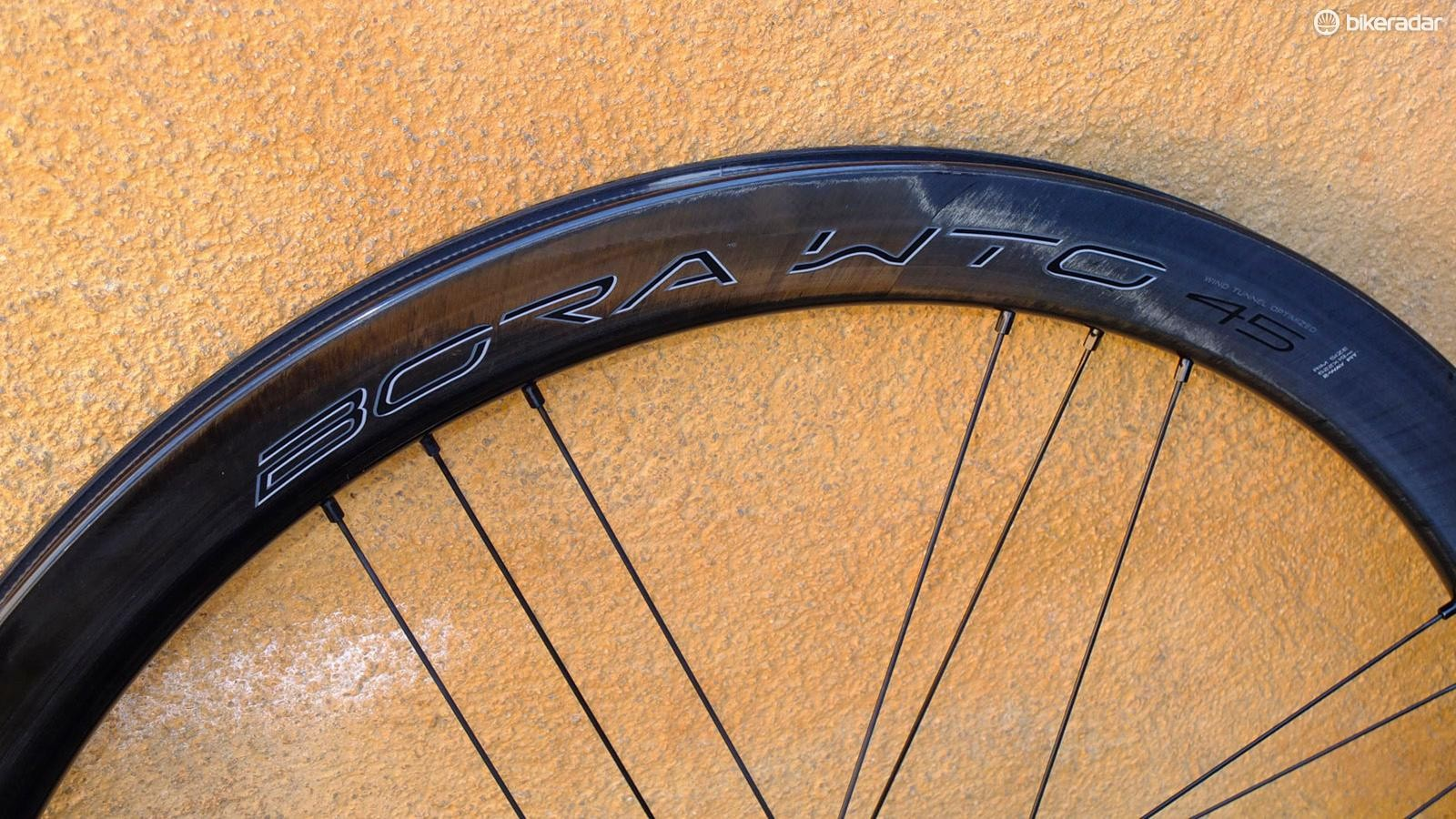 Available in disc or rim brake versions, this is the disc example