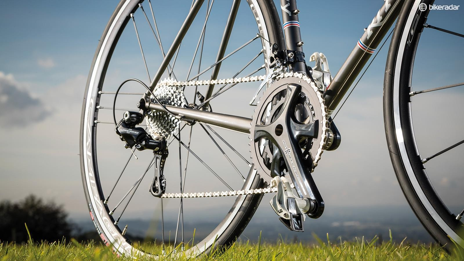 We rather like Campagnolo's third-tier groupset