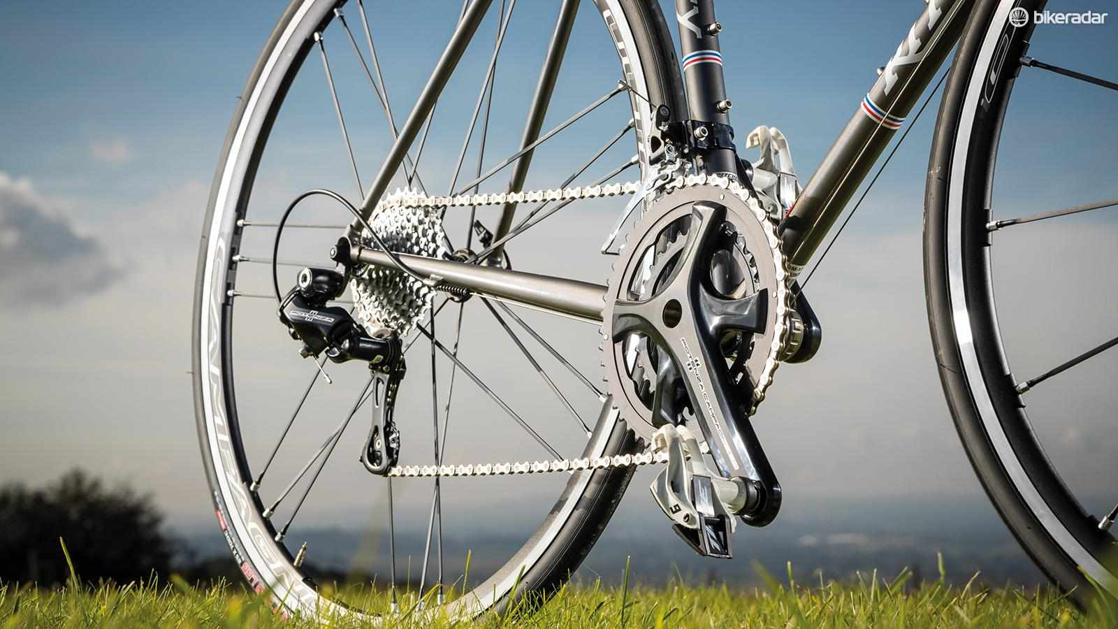 Campagnolo's Potenza groupset