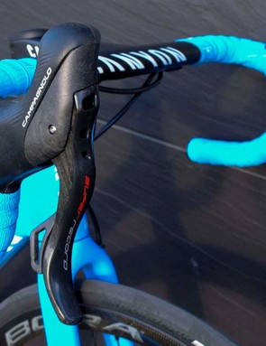 Super Record EPS 12-speed Disc Ergopower levers