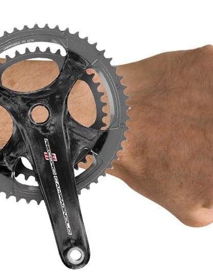 Our graphics department worked through the night to produce this rendering of the possible Campagnolo watch