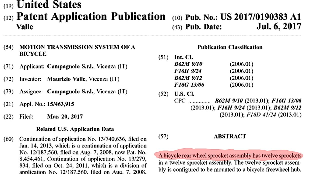A filed patent doesn't necessarily mean a product will come to market, but...