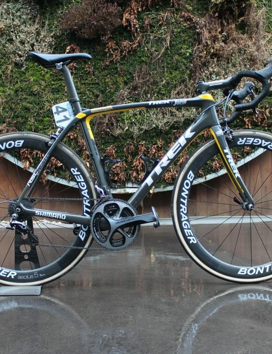 Cancellara's Domane SLR that he rode to second place in his final Tour of Flanders