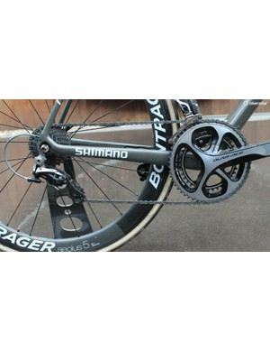 For the Tour of Flanders and Paris-Roubaix, Cancellara races without a power meter and without a heart rate strap