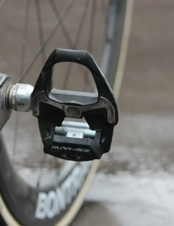 Shimano Dura-Ace pedals aren't flashy, but they get the job done, year after year