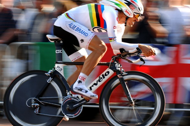 Fabian Cancellara is the world's best prologue rider at the moment