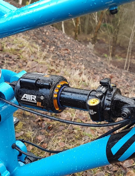 Cane Creek's DB Air InLine is highly adjustable