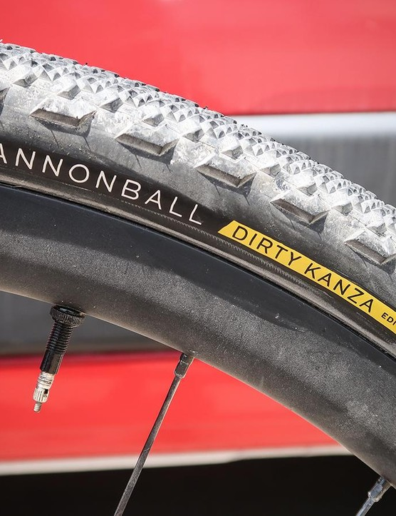 Teravail takes gravel racing seriously and even makes a Dirty Kanza edition of the Cannonball tire