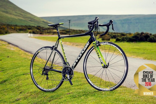 Cannondale's CAAD12 105 is a stunning example of how good alloy road bikes can be