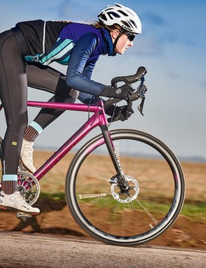 The Cannondale is a bike that lights up every part of every ride