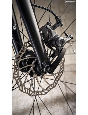 Promax disc brakes are adequate performers but do add weight