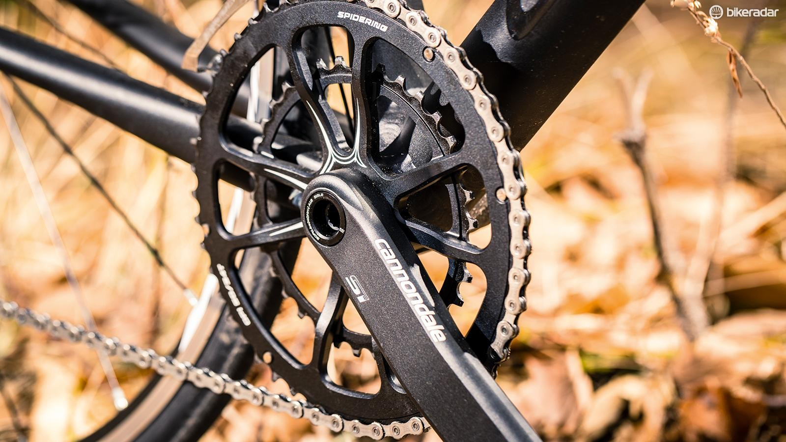 Cannondale's Hollowgram Si crank is a welcome addition