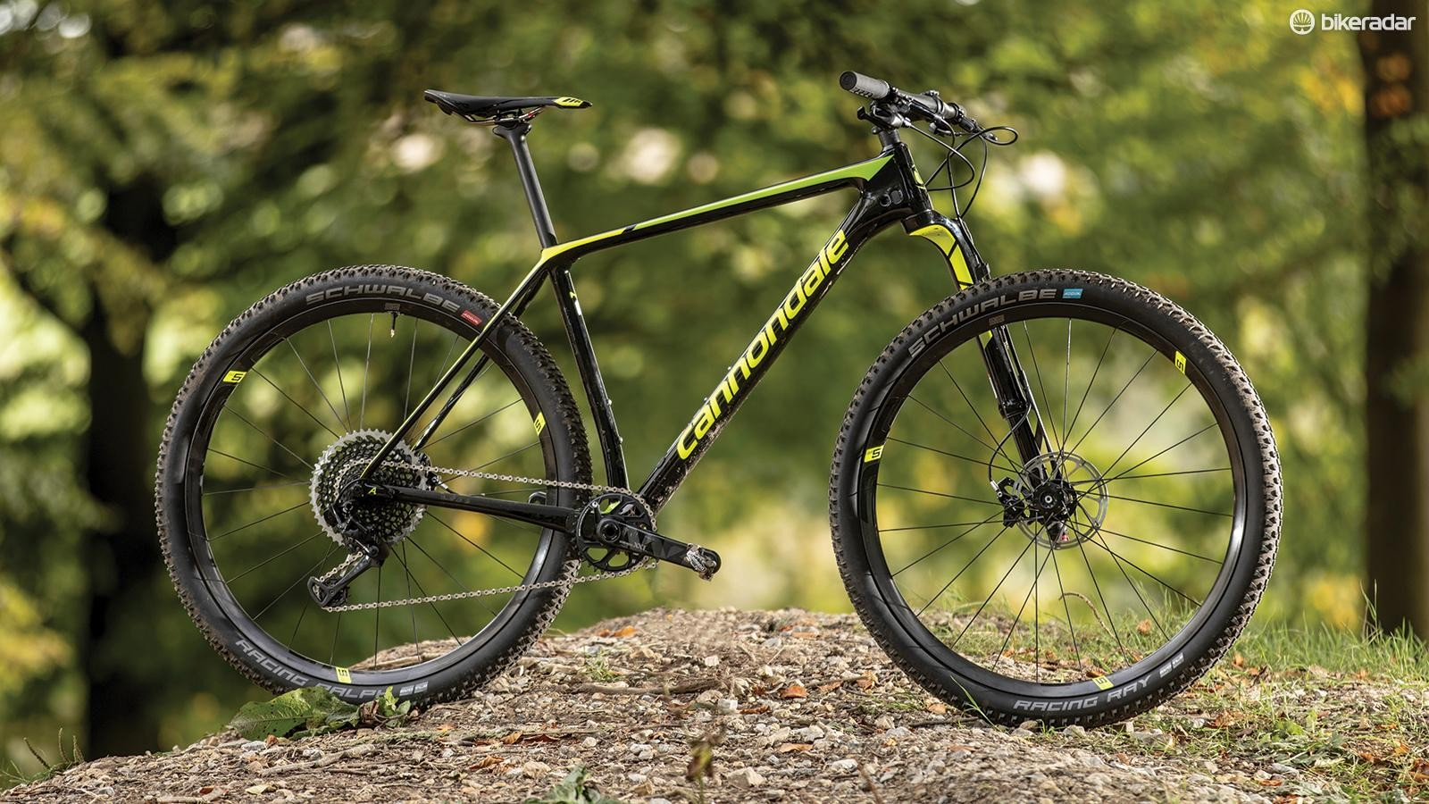 Few bikes can turn heads like Cannondale's latest F-Si