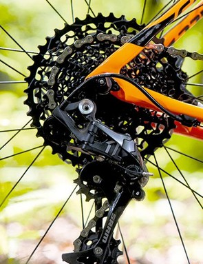 Reliable shifting from the SRAM groupset