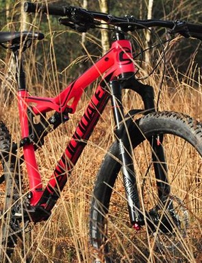 120mm travel front and rear comes via decent RockShox Pike RC forks and a Fox Float shock