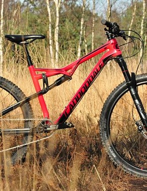 The Habit is based around a stiff carbon frame