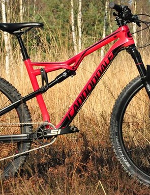 While Cannondale regards the Habit as a go-anywhere bike, it sits more towards the XC end of the spectrum