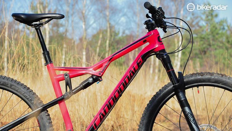 The women's Habit has a women's specific saddle