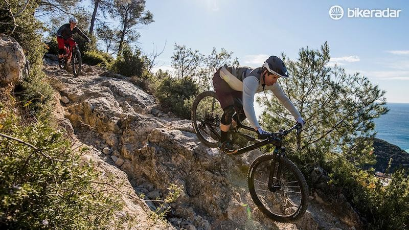 Between the turns, the Habit was loads of fun — but it can still handle bigger terrain