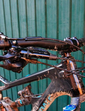 Powerful brakes are a must on an enduro bike