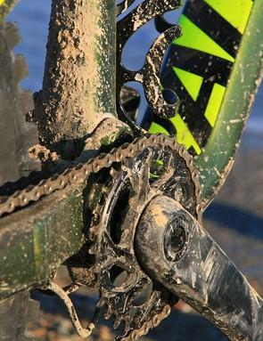 Pedalling friendly pivot placement
