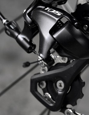 Shimano 105 is a popular choice in this price range