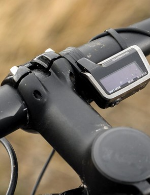 Shimano's electronic XTR Di2 is on board