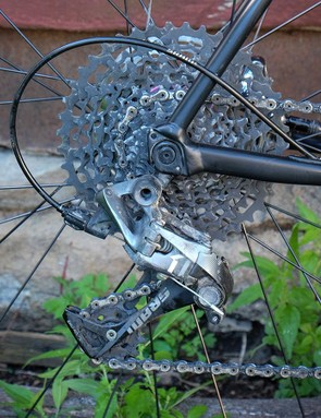 SRAM's Force CX1 group on the Slate
