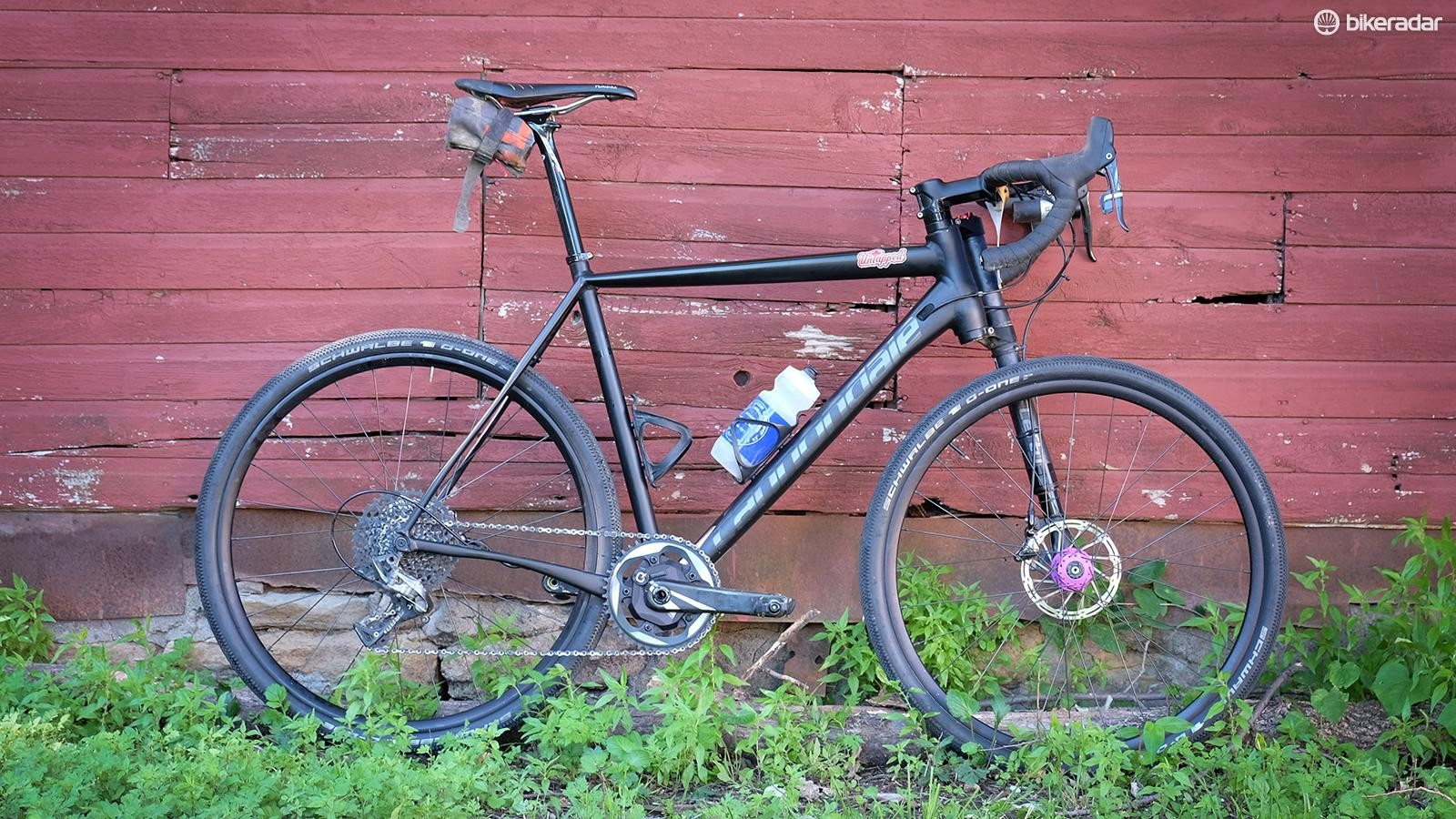 Ted King's Cannondale Slate was the fastest bike at this year's Dirty Kanza 200