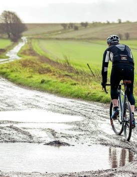 After a tyre upgrade the Cannondale Slate Ultegra can go pretty far off-road