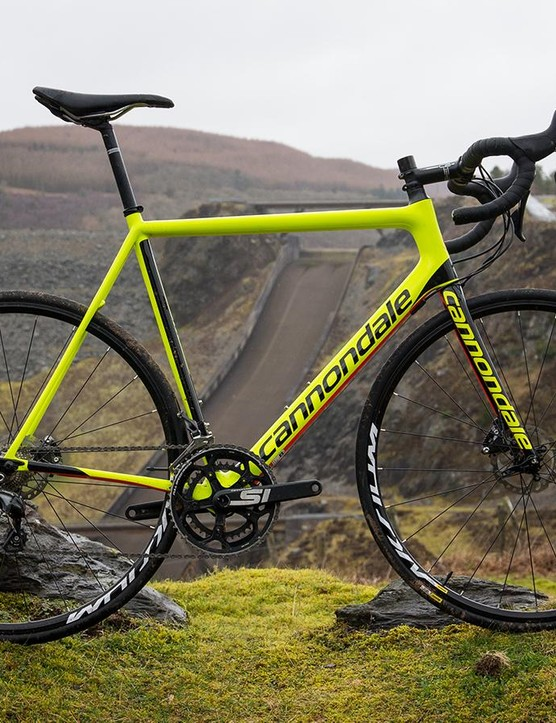 The Cannondale SuperSix EVO Disc Ultegra offers a near-HiMod experience for a lot less cash